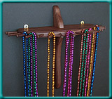 15-Peg Large Single-Tier Necklace Holder